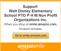 Amazon Smile benefitting Walt Disney PTO
