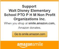 Amazon Smile benefitting Walt Disney PTO