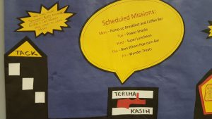 Scheduled Mission